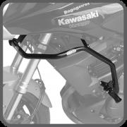 Protetor de Motor Carenagem  com pedaleira  VERSYS 650 2010 ATE 2014