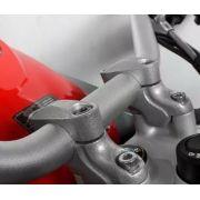 Riser Adapt Guidao R1200gs Adv 2013+ Spto272 Scam Preto