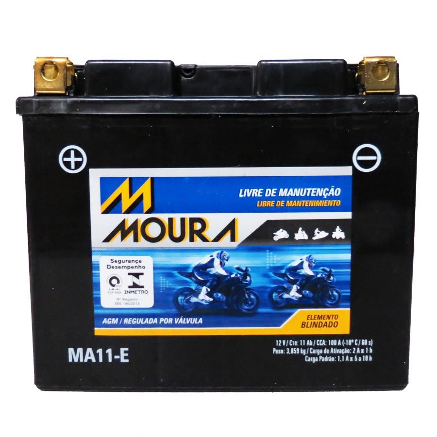 Bateria Moura Ma11-E 12 Volts 11 Amperes