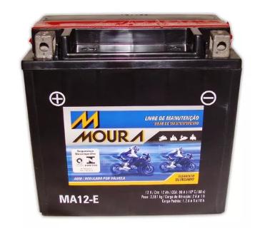 BATERIA MOURA MA12-E Buell 500 cc Explosão 2009