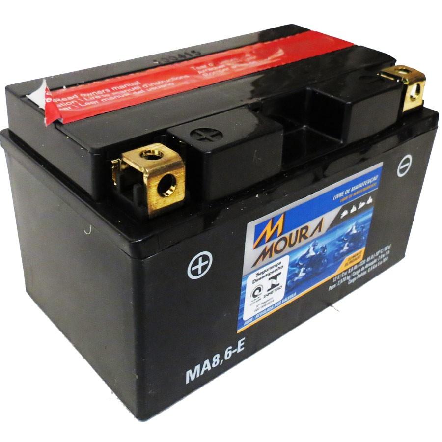 Bateria Moura Ma8,6-E 12 Volts 8,6 Amperes