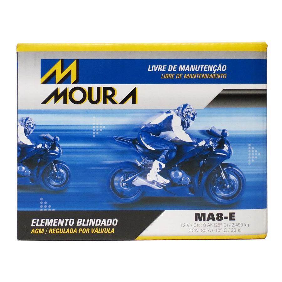 Bateria Moura Ma8-e  12 Volts 8 Amperes