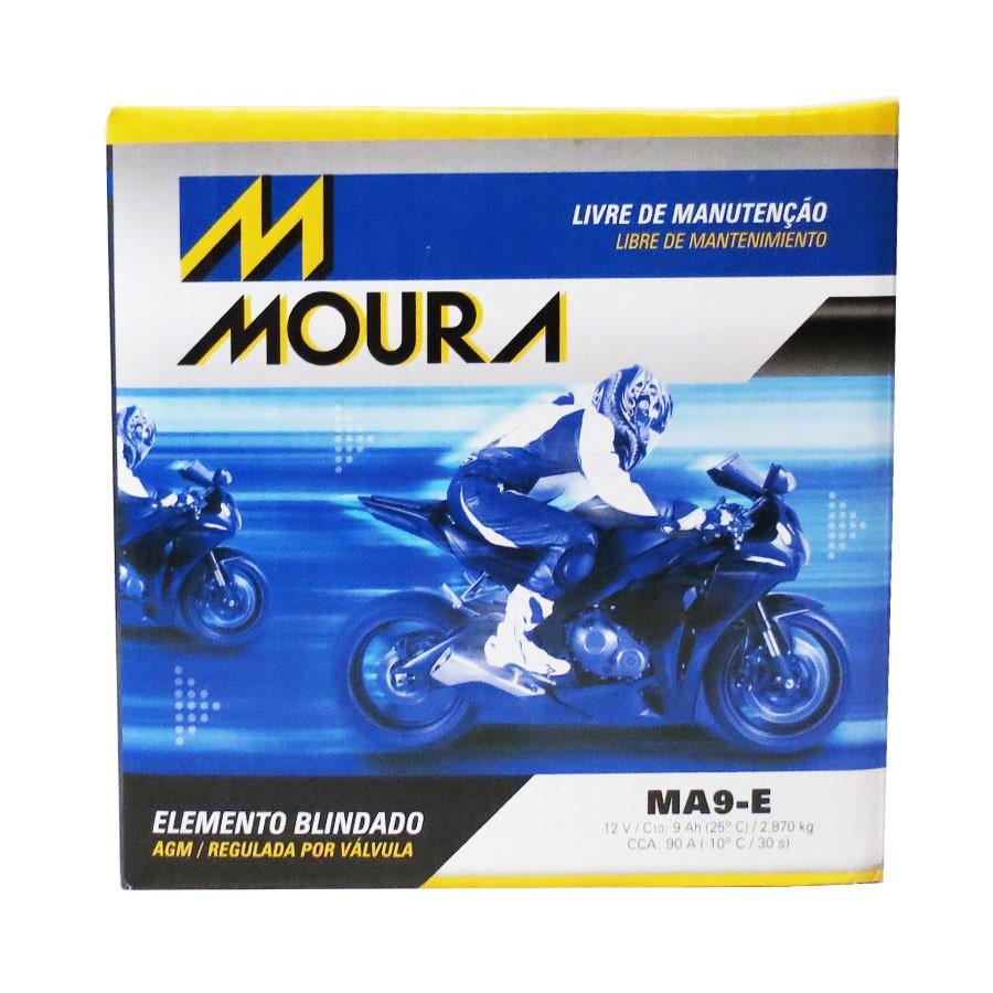 Bateria Moura Ma9-e Suzuki Gsxr 1000 750 Srad Hayabusa 1300