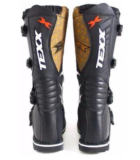 Bota Motocross Pro Race EVO Preta Texx