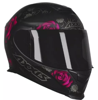 Capacete AXXIS EAGLE FLOWERS Pink T56