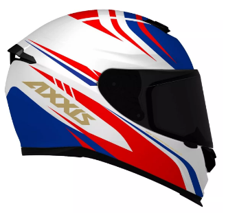 Capacete AXXIS EAGLE HYBRID Azul T58
