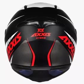 Capacete AXXIS EAGLE HYBRID Preto/Verde T60