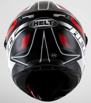 CAPACETE HELT RACE GLASS BELL PRETO 60