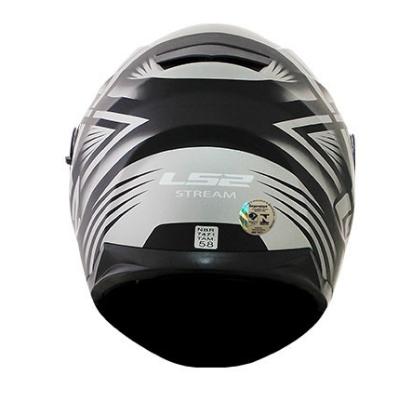 CAPACETE LS2 FF320 STREAM BANG PRETO 64
