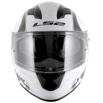 Capacete LS2 FF320 STREAM VELVET Branco T64