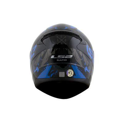 Capacete LS2 FF353 RAPID PALIMNESIS Preto T56