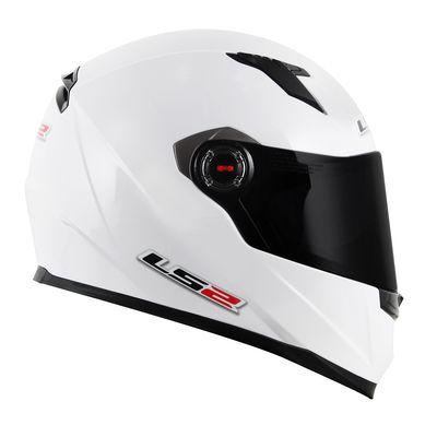 Capacete LS2 FF358 MONO GLOSS Branco T60
