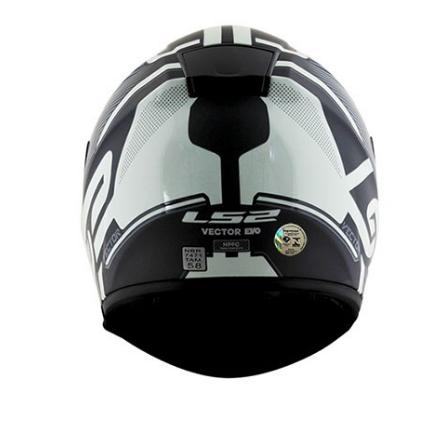 CAPACETE LS2 FF397 ORION BLACK 56