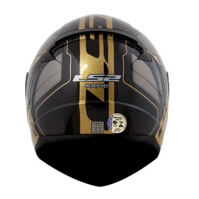 CAPACETE FF353 LS2 RAPID MEDAL GOLD 58