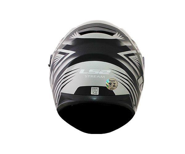 Capacete LS2 FF320 STREAM BANG Preto T64