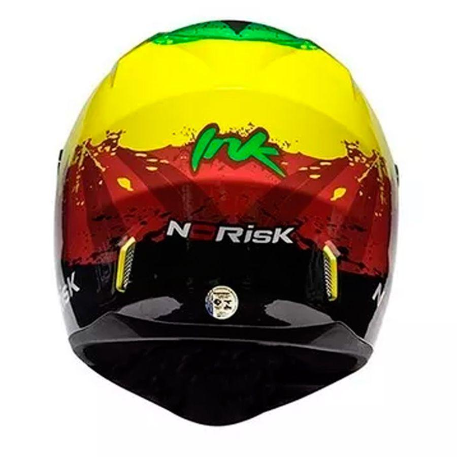 Capacete Norisk Ff391 Ink Jamaica