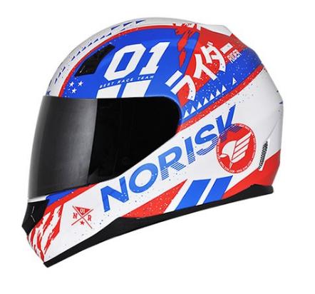 CAPACETE NORISK FF391 TOKYO BRANCO 56 58 60