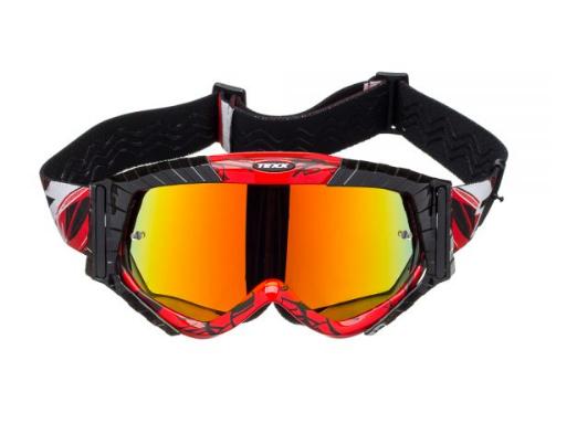 Óculos TEXX Raider MX VERMELHO PRETO