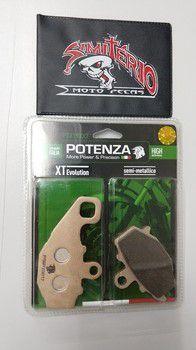 PASTILHA POTENZA FREIO TRASEIRA CF MOTO 650 NK 12-13 R