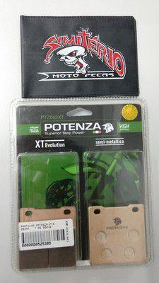 PASTILHA POTENZA FREIO TRASEIRA SUZUKI GSX 550 1984/1987