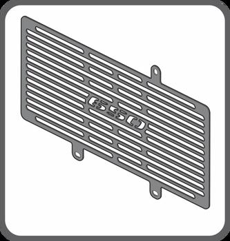 Protetor de Radiador ER 6N 2009 até 2012