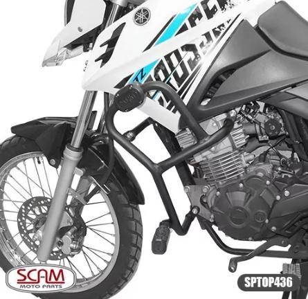 Protetor Motor Carenagem Scam Sptop436 Yamaha Crosser 2014+