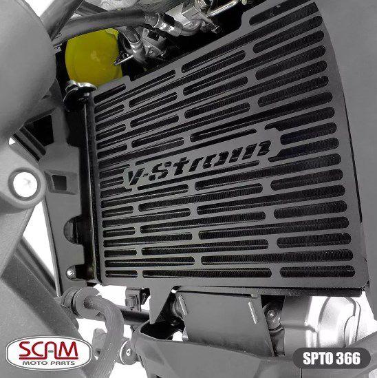 Protetor Radiador Suzuki V-strom650 2019+ Spto366 Scam