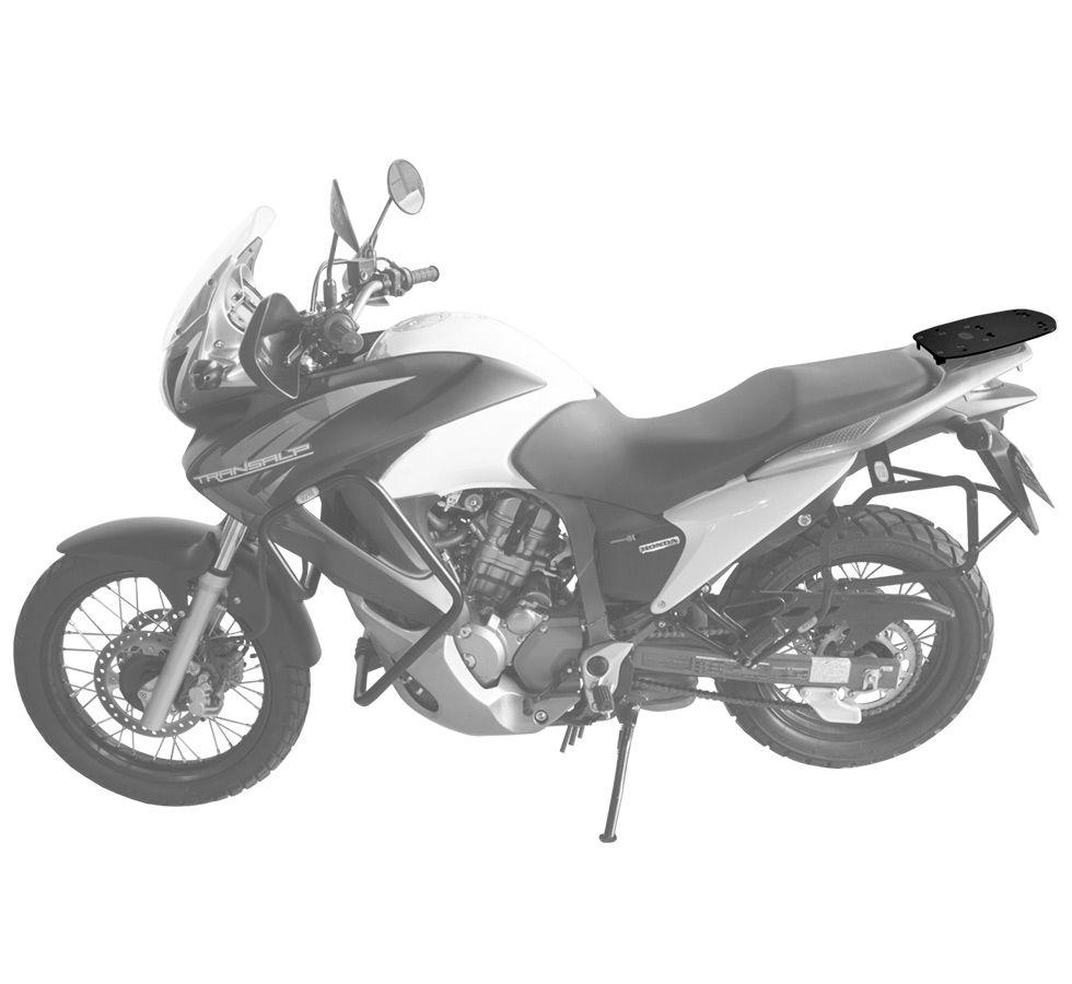 Suporte De Baú Superior Scam  Honda Transalp 700 Todos Os Modelos
