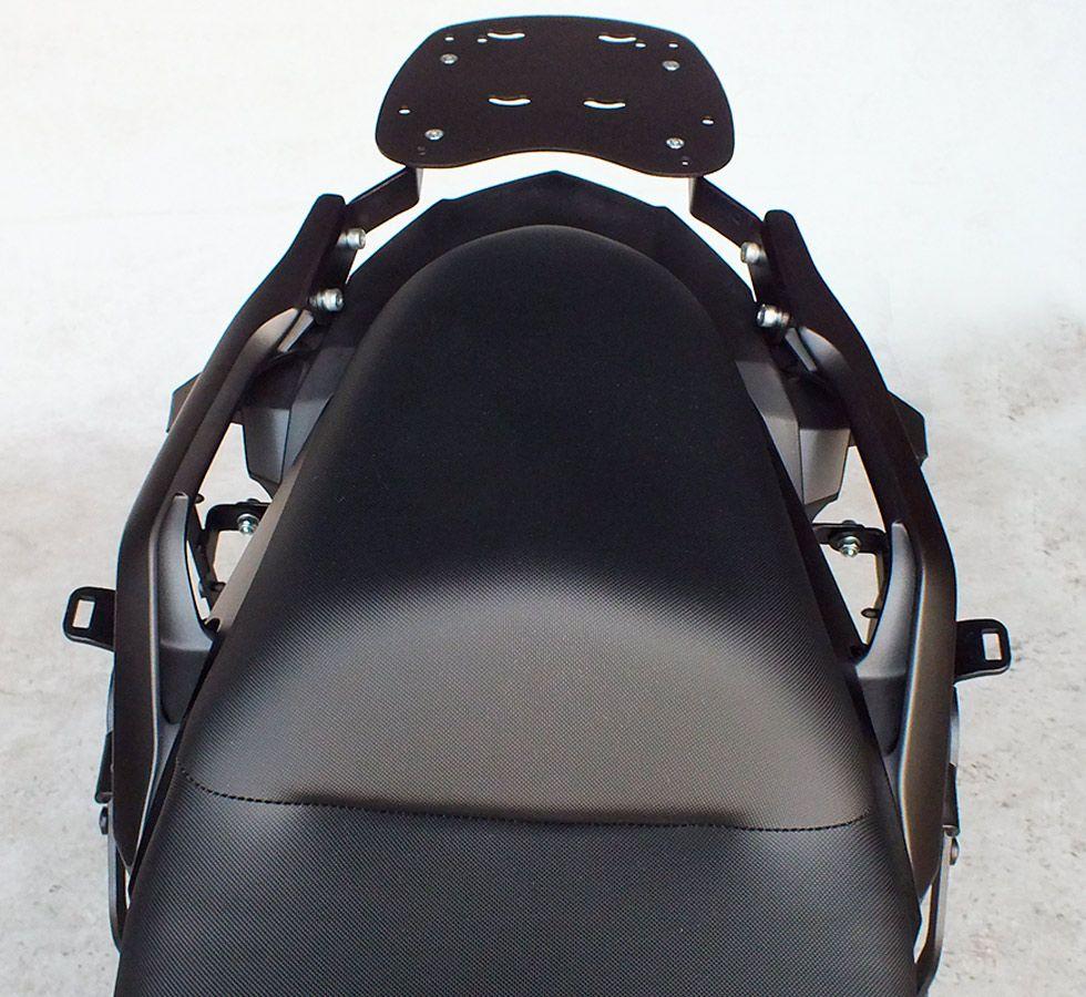 Suporte De Baú Superior Scam  Kawasaki Versys 650 Modelos 2015 Em Diante
