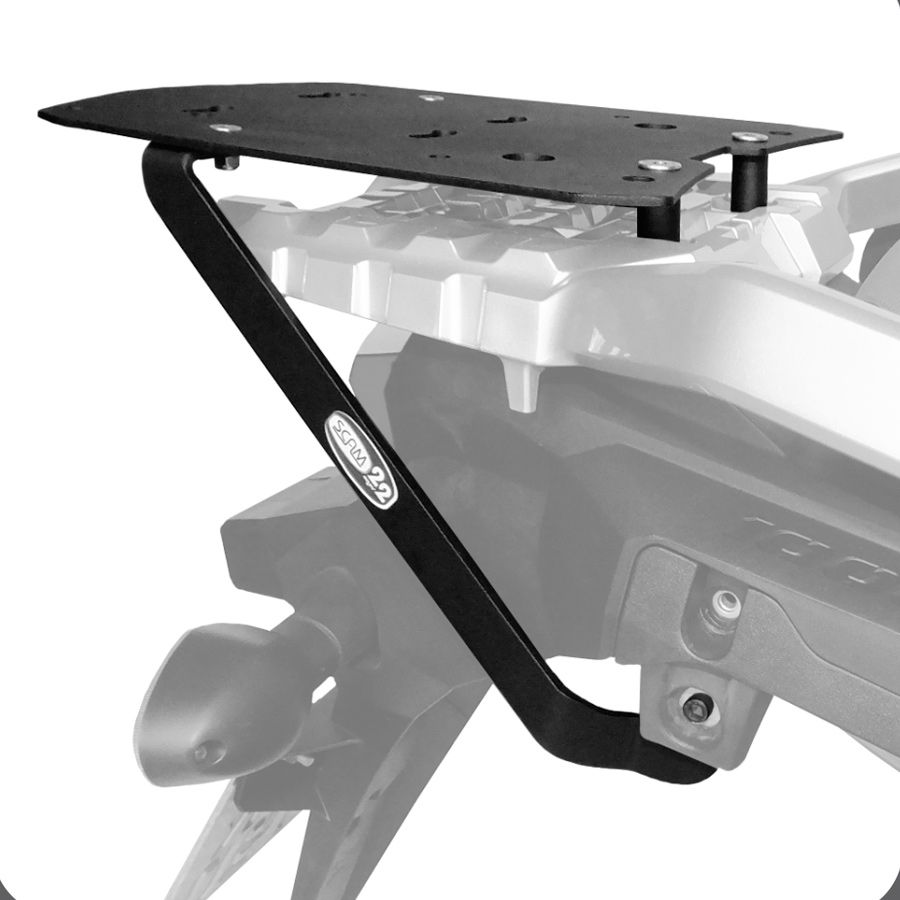 Suporte De Baú Superior Scam– Suzuki V-Strom1000 Modelos 2014 Em Diante.