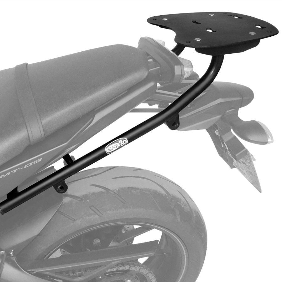 Suporte De Baú Superior Scam  Yamaha MT-09 Modelos 2015 Em Diante.