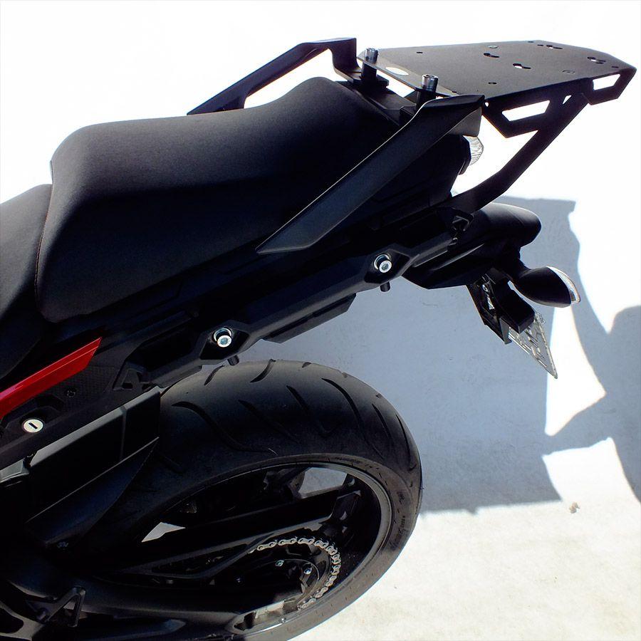 Suporte De Baú Superior Scam Yamaha MT-09 Tracer Modelos 2016 Em Diante.