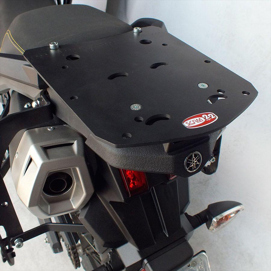 Suporte De Baú Superior Scam Yamaha Ténéré 660 Todos Os Modelos.
