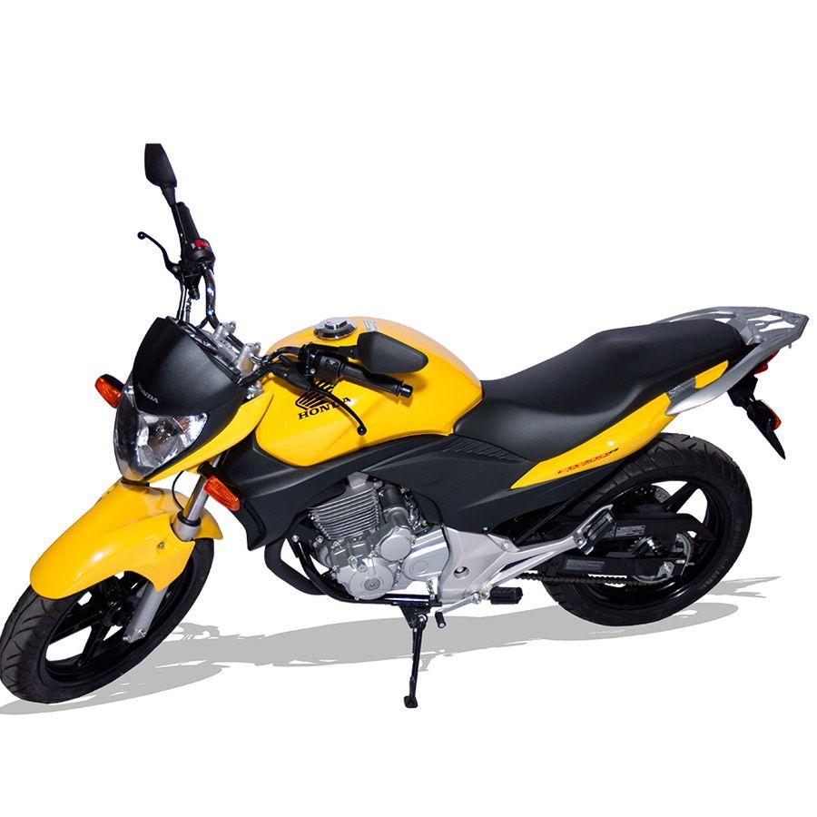 Suporte Do Baú Superior Scam Em Liga Leve Honda CB 300R