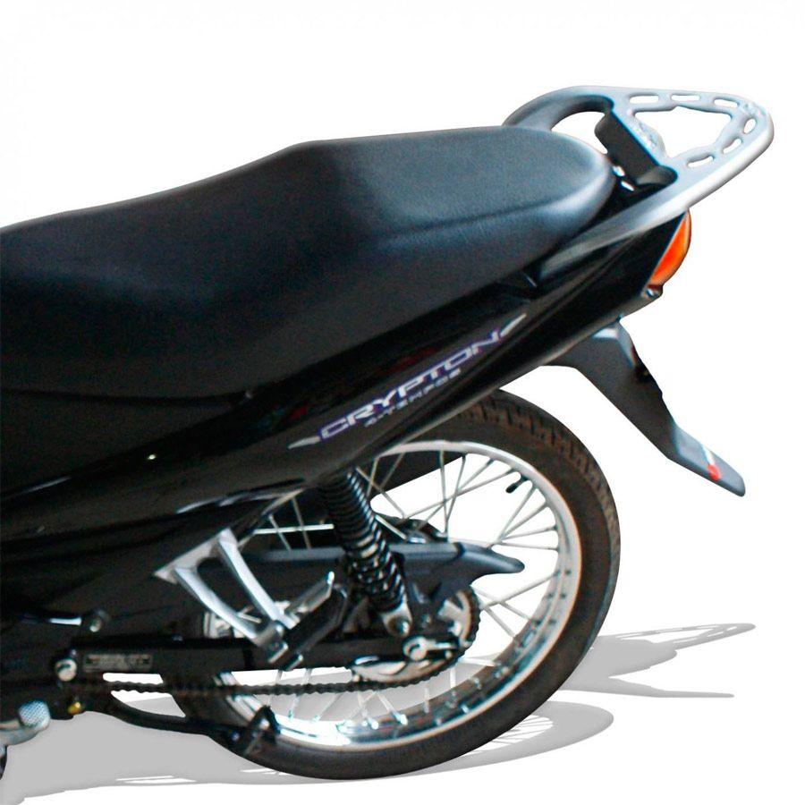 Suporte Do Baú Superior Scam Em Liga Leve Yamaha Crypton 115 Modelos 2010 Em Diante
