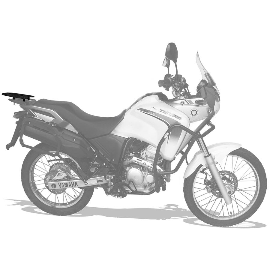 Suporte Do Baú Superior Scam Em Liga Leve Yamaha Ténéré 250 Modelos Até 2014