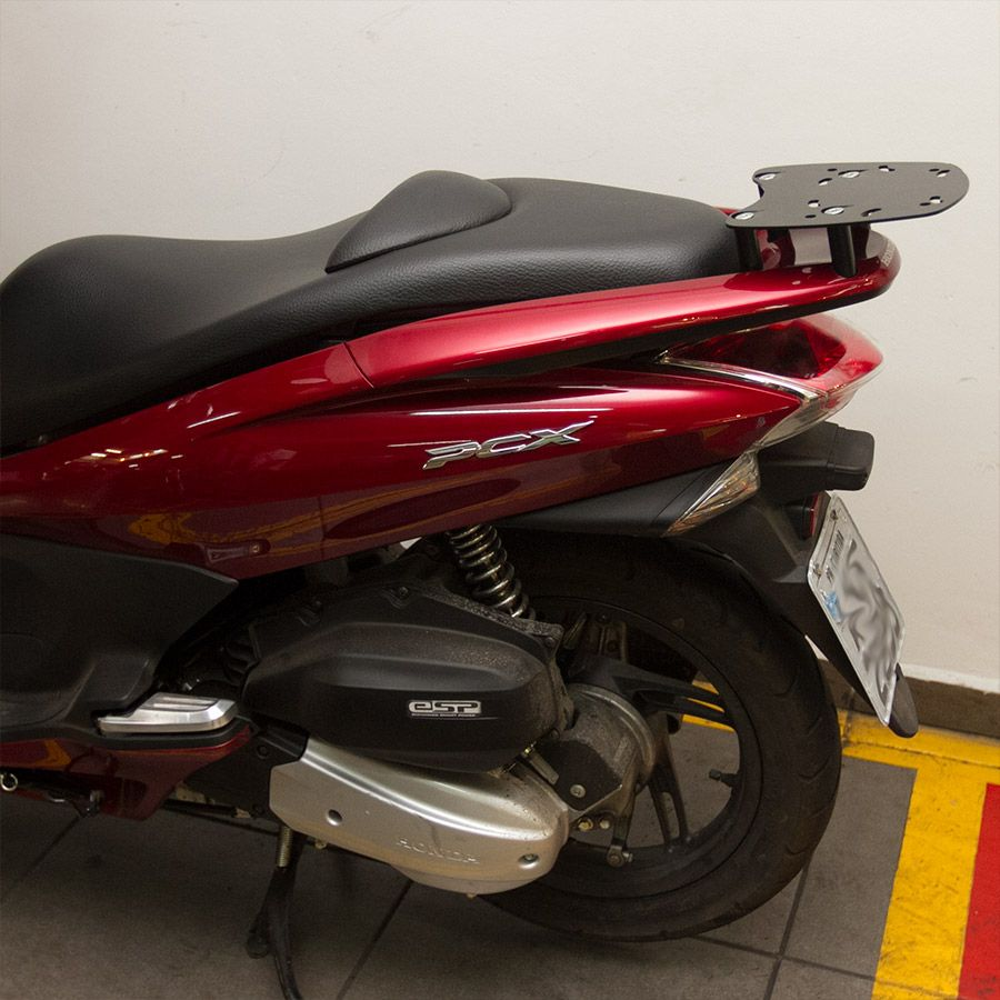 Suporte Do Baú Superior Scam  Honda  Pcx 150 Modelos Até 2014.
