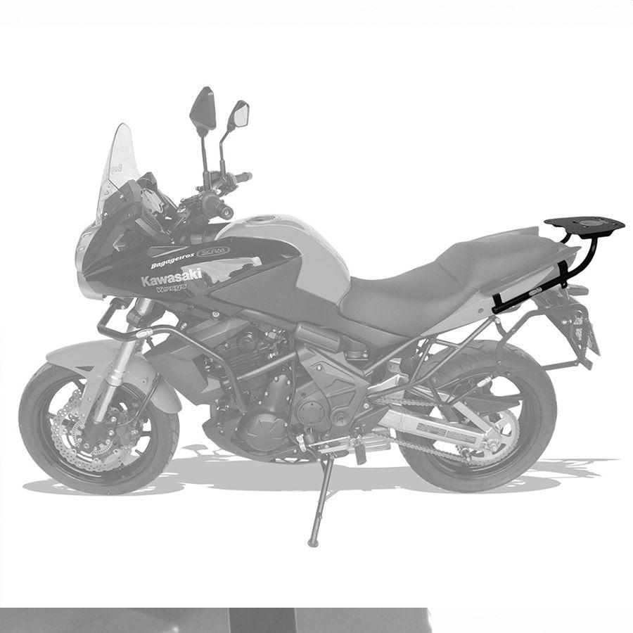Suporte Do Baú Superior Scam Suzuki V-Strom 650 Modelos 2002 A 2012.