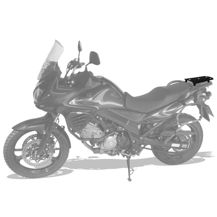 Suporte Do Baú Superior Scam  Suzuki V-Strom 650 Modelos 2013 Em Diante.