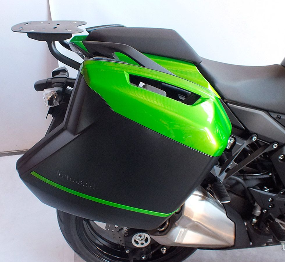Suporte Do Baú Superior/Traseiro Scam Kawasaki Ninja 1000 Tourer