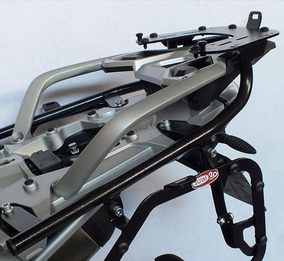 Suporte Para Baú Superior Scam BMW R1200 GS Modelos 2013 Em Ddiante