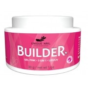 Gel UV Led Unique BUILDER pink 30g leitoso
