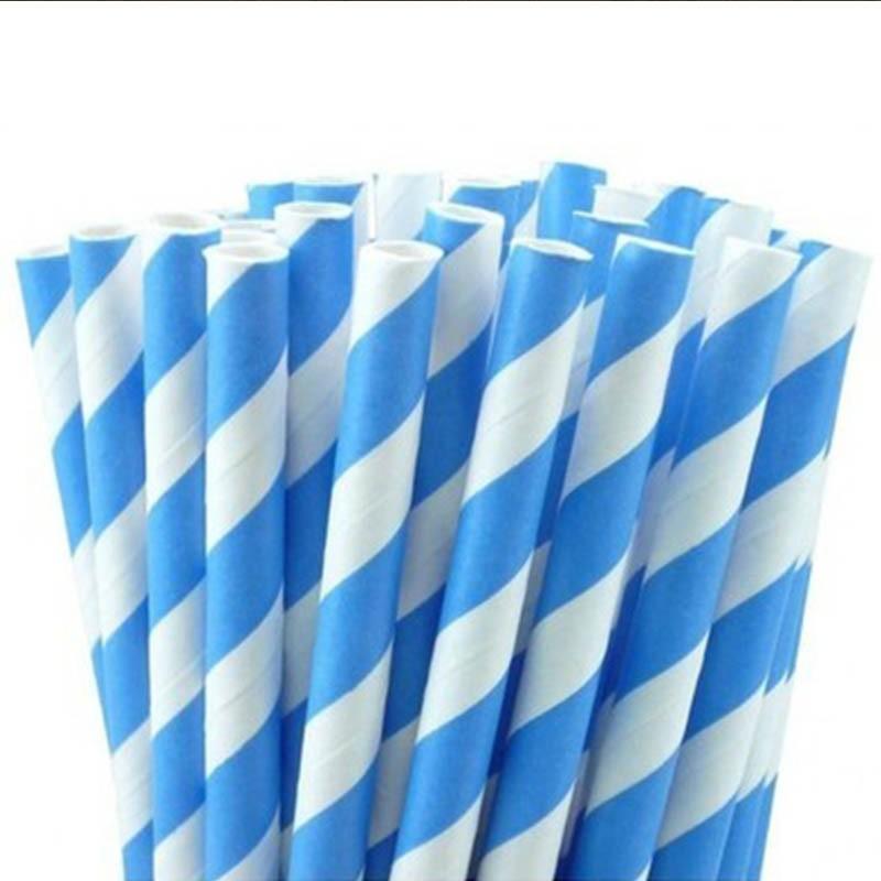 12 Canudos de papel para suco