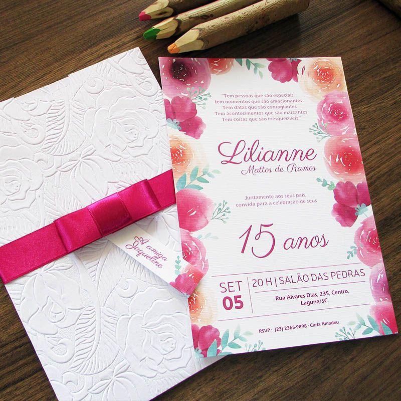 Convite 15 anos Encanto