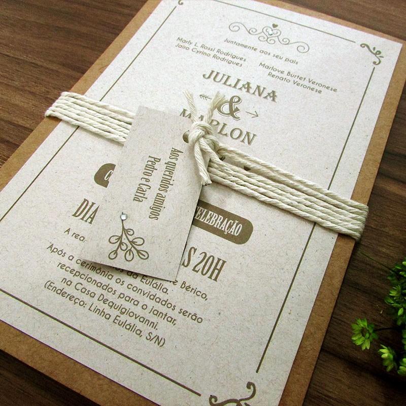 Convite casamento r stico moderno for Rustico moderno