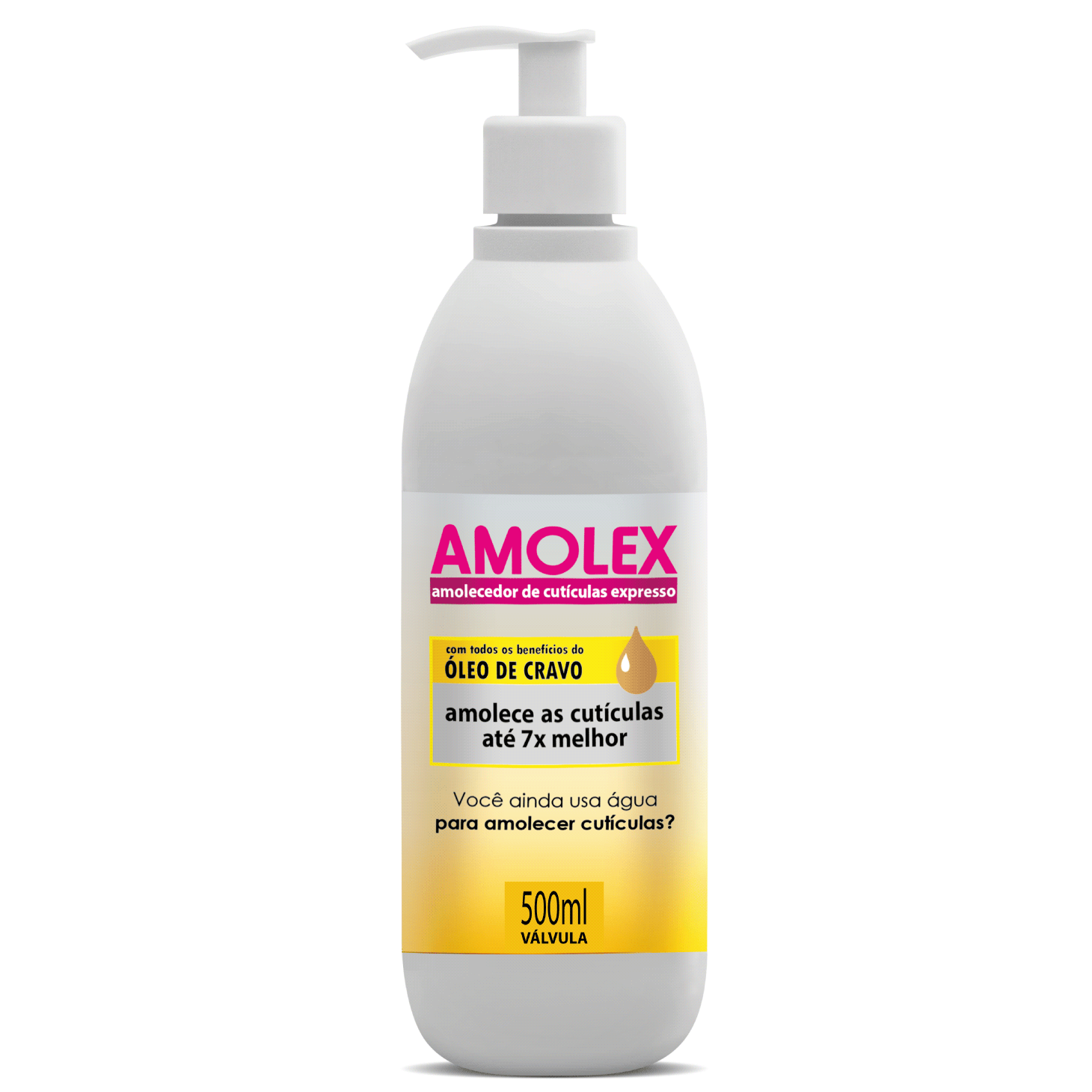 Amolex Amolecedor de Cutículas Válvula 500ml