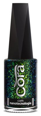 Esmalte Cora 9 ml Chameleon Flakes - London