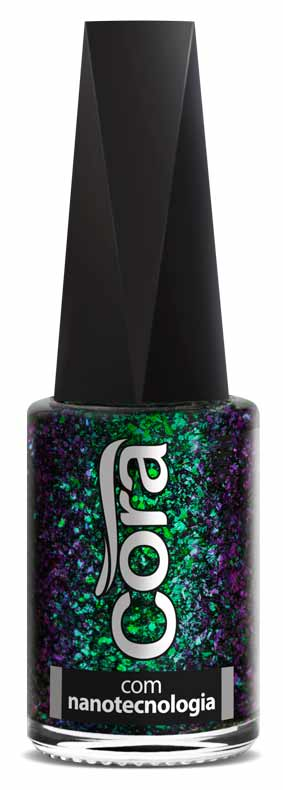 Esmalte Cora 9 ml Chameleon Flakes - Paris