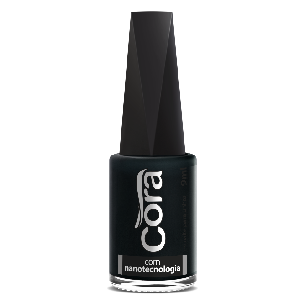 Esmalte Cora 9ml Black Azul 99