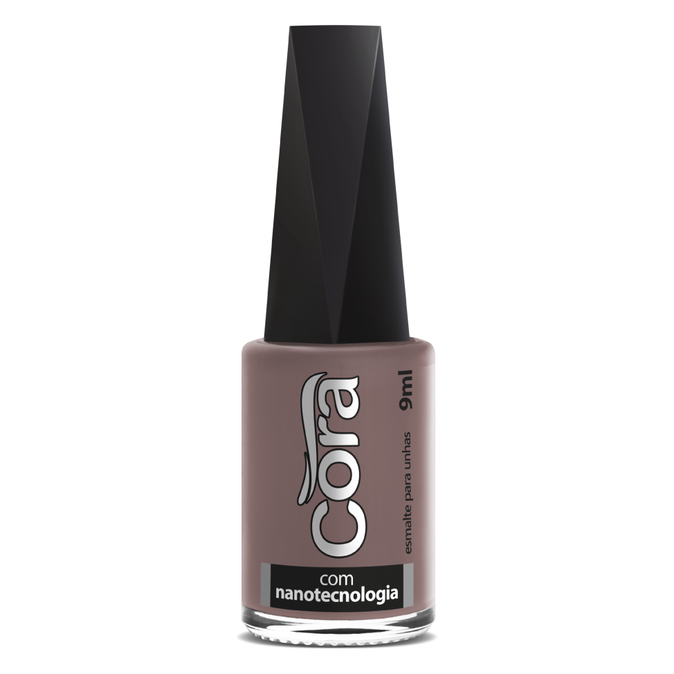 Esmalte Cora 9ml Black Nude Perfect
